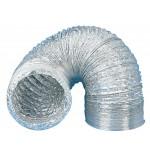 Gaine Alu-Flex diam.125 mm / boite de 10 mètres